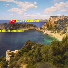 Isla del descubridor buceo Jávea
