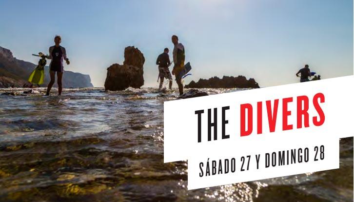 Bautismo de buceo en el Non Stop Festival de Denia 2017
