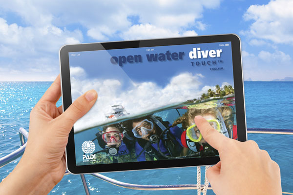 open water curso buceo