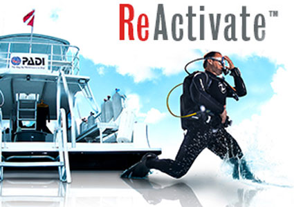 Reactivate curso buceo PADI