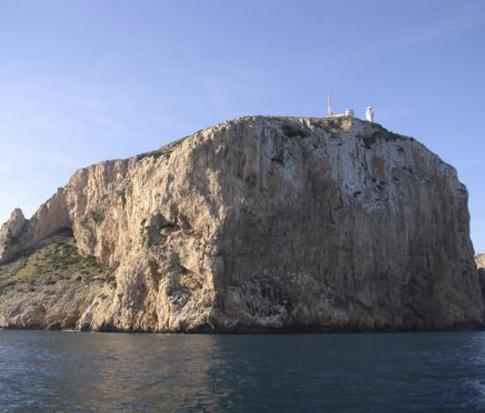 Cabo San Antonio buceo jávea