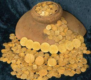 monedas oro flota espanola